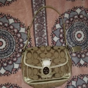 EUC Coach mini purse